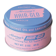 HAIR-GLO by Murrays , Case of six (6) 3 oz. cans
