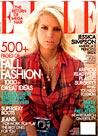 Elle, September 2004 Cover, Jessica Simpson