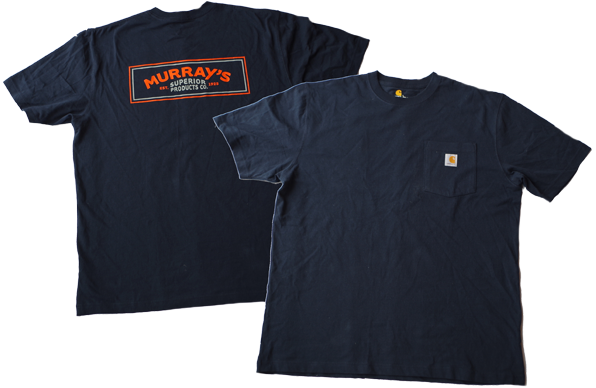 Murray's  and Carhartt work shirt