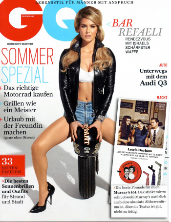 GQ Germany, June 2011